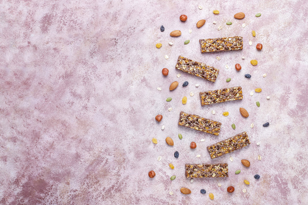 proteinbar med nødder