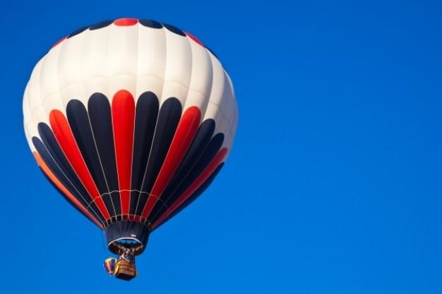 rød luftballon